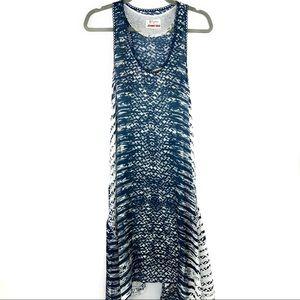 Johnny Was Biya Silk Maxi Dress w/ Slip